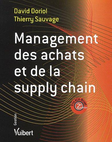 Management des achats et de la supply chain par David Doriol