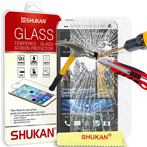 for-htc-one-m7-shukanr-premium-tempered-glass-crystal-clear-lcd-screen-protector-guard-polishing-clo