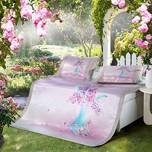 Nclon Ice Silk Seats Dreiteilige Mats Collapsible Klimaanlage Sitze, Komfort und Luxus zu Ihrem Schlafzimmer mit diesen - Klimaanlage Seat