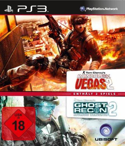 Tom Clancy\'s Rainbow Six Vegas 2 + Ghost Recon: Advanced Warfighter 2 - [PlayStation 3]