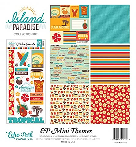 Echo Park Paper Echo Park Collection Kit 12-inch x 12-inch-Island Paradise, Other, Multicoloured