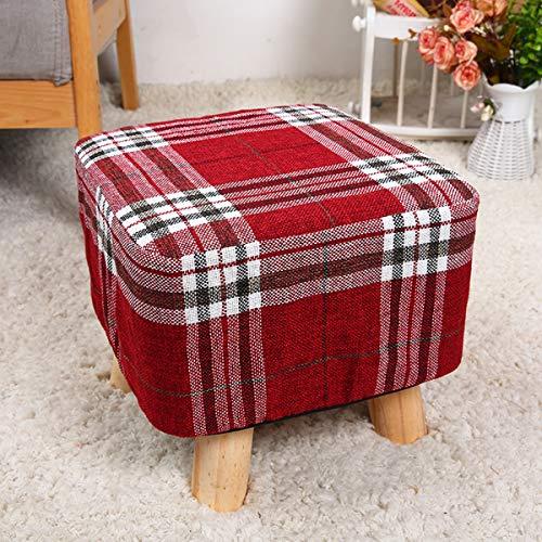 Divano per bambini carino sgabello in tessuto per bambini sgabello europeo in legno massello panca piccola moda cambio di panno scarpe sgabello divano mobili residenziali