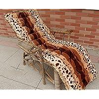 HDWN Reclinabile peluche spessi cuscini sedia cuscini cuscini del divano in legno sedia a dondolo cuscino cuscini autunnali ed invernali , 52*110 , a