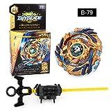Lavendei 4D Fusion Modell Metall Masters Speed Kreisel | Kampfkreisel mit Launcher | Beste Geschenk für Kinder, Jugendliche und Erwachsene (B-79)