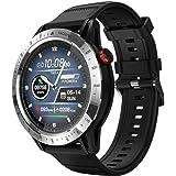 Orologio fitness con misurazione della pressione sanguigna, per uomo e donna, 10 modalità sportive, multifunzione, cardiofreq