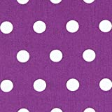 Unbekannt Baumwollstoff Punkte Pastell 5 lila — Meterware
