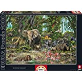 Educa 16013 - African Jungle, John M. Enright - 2000 pieces - Genuine Puzzle