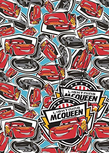 Image of Official Gift Wrap (Cars 3 Lightning McQueen)