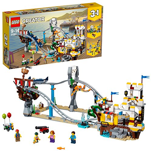 LEGO 31084 Creator Pirate Roller Coaster Building Set
