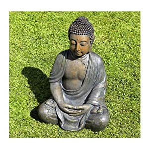 buddha skulptur buddhafigur 70 cm feng shui gartendeko. Black Bedroom Furniture Sets. Home Design Ideas