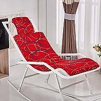 New day®-Rattan sedia a dondolo che si trova sedia cuscino sedia a dondolo cuscino culla sedia cuscino , a