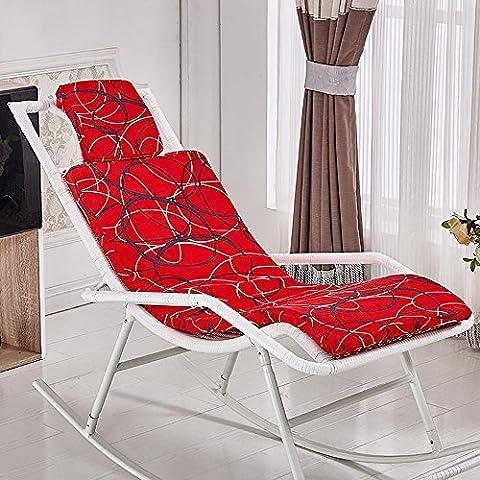 New day-Rattan sedia a dondolo che si trova sedia cuscino sedia a dondolo cuscino culla sedia cuscino , a