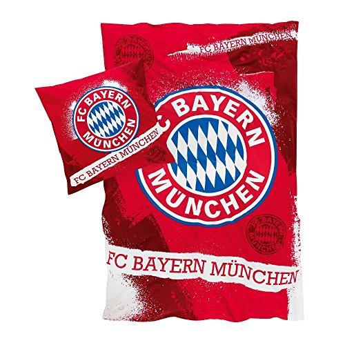 "61ohp9tcDhL - NO1# SLEEP SOLUTIONS FC Bayern Munich Bed Linen 135 x 200 CM ""18879 FAN best sleep & dream reviews Buy price uk"