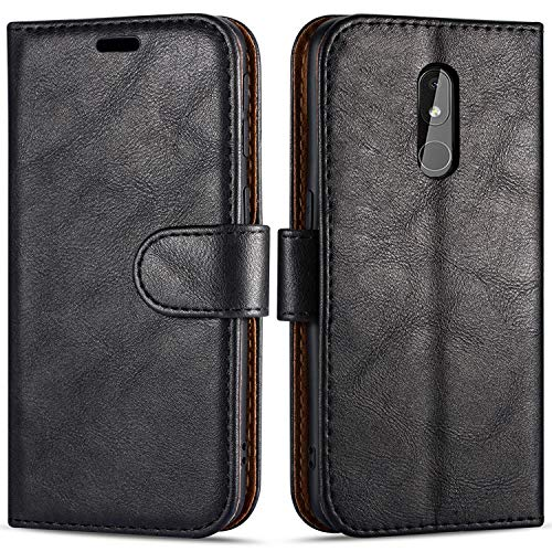 "Case Collection Custodia per Nokia 3.2 Cover (6,26"") a Libretto in Pelle di qualità Superiore con Slot per Carte di Credito per Nokia 3.2 Custodia"