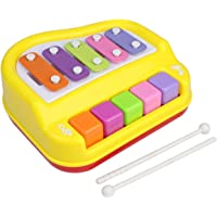 Toyshine Musical Xylophone and Mini Piano, Non Toxic, Non-Battery