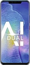 HUAWEI Mate20 Pro Dual-SIM Smartphone Bundle (6,39 Zoll, Künstl. Intelligenz, Leica Triple Kamera, 128 GB interner Speicher, 6 GB RAM, Android 9.0, EMUI 9.0) Twilight + gratis USB Typ-C-Adapter [Exklusiv bei Amazon] - Deutsche Version