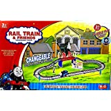 Curtis Toys Battery Operated Train Set (31 Pieces)