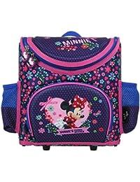 Minnie Mouse–Zaino per la scuola Set pezzi–Cartella–Cartella Cartella Cartella–zaino per la scuola–5pezzi