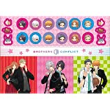 BROTHERS CONFLICT A4 size sticker sheet pink (japan import) by Chara-ani