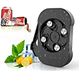 Go Swing Topless Can Opener,OVIFM Screw Cap Multifunctional Can Openers,Safety Easy Manual Beer Can Opener,Effortless Can Top