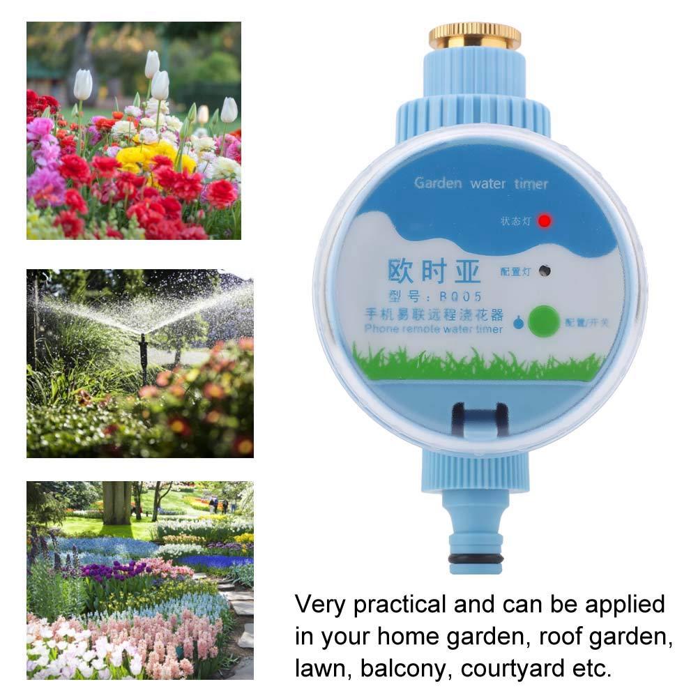 Sorand Automatischer Bewässerungstimer, elektronische Wi-Fi-Fernbedienung Bewässerungstimer Gartenbewässerungstimer…