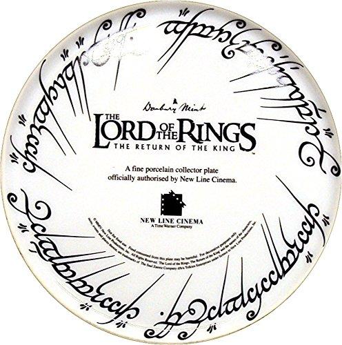 Der Herr der Ringe THE RETURN OF THE KING Teller Danbury (mint Sammler Teller 30,5cm 30cm limitierte Edition - 3