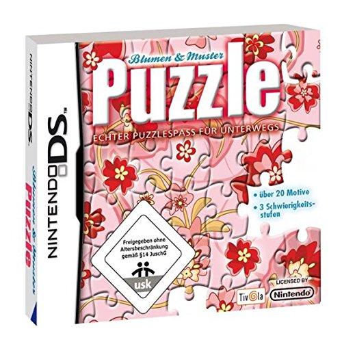 Puzzle - Blumen und Muster - [Nintendo DS] (Blume Spiel)