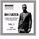 Bo Carter Vol. 1 (1928 - 1931)