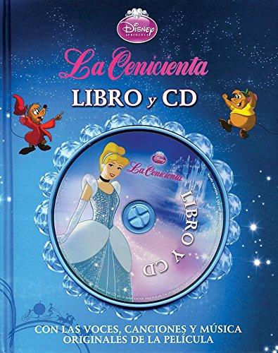 Disney Princesa: La Cenicienta - Libro Y Cd