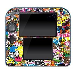 """Nintendo 2DS Skin """" STICKER """" Aufkleber Sticker Folie Schutzfolie"""