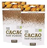 Produkt-Bild: BIO Kakao Pulver - Superfood, vegan, rohkost - 10% sparen im DUO 2x200g