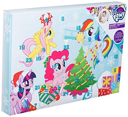 Radiergummi-stempel (My little Pony Mädchen AVDENT Kalender Puzzle Radiergummi Aufkleber Stempel Kinder Weihnachten)