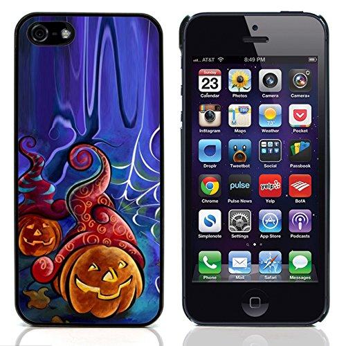 Graphic4You Halloween Allerheiligen Thema Kürbis Design Harte Hülle Case Tasche Schutzhülle für Apple iPhone 5 und - 5 Iphone Halloween-thema