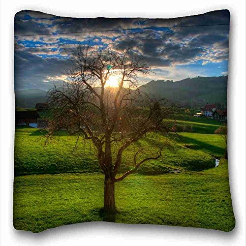 soft-pillow-case-cover-nature-sunset-fields-stream-images-landscape-soft-pillow-case-cover-1616-inch