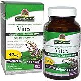 Nature's Answer, Vitex (agnus-castus), chastetree Berry, 90 capsules vegetales