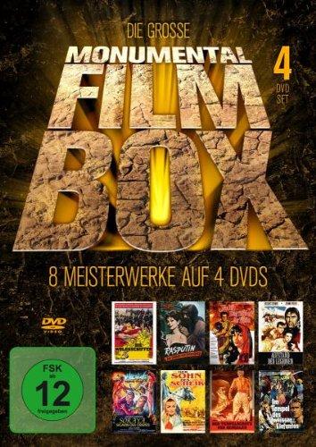 Die große Monumental - Filmbox (4 Discs)