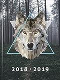 Brunnen 1072961079 Schülerkalender 'Wolf', 2018/2019