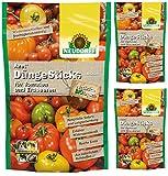 3 x 40 (120 Stk) Neudorf Azet DüngeSticks für Tomaten und Erdbeeren NPK 7-2-6