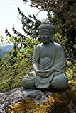 Buddha Statue in the Garden Zen Meditation Journal: 150 Page Lined Notebook/Diary