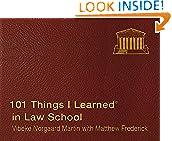 #7: 101 Things I Learned in Law School