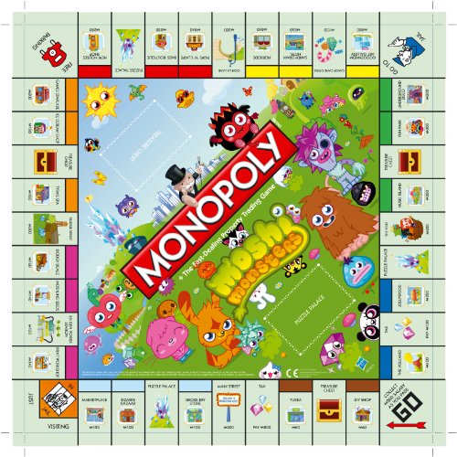 Image of Monopoly Moshi Monsters Board Game