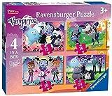 Best Disney Amigos caja de juegos - Ravensburger Disney Vampirina 4 en una Caja Review