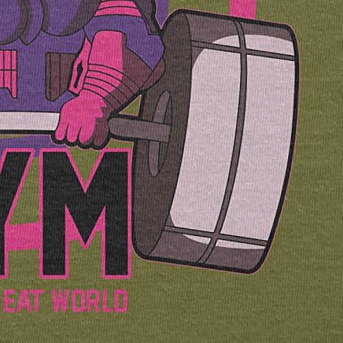 Texlab–Galactus Gym–sacchetto di stoffa Oliva