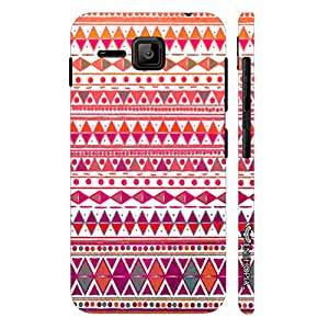 Micromax Bolt S301 CHIC AZTEC designer mobile hard shell case by Enthopia