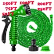 Deluxe Expandable Flexible No Kink Garden Hose Pipe 3 x Expanding. 50FT / 75FT / 100FT / 150FT / 200FT / 250FT Pampered Gardens Best Magic Stretch Hosepipe. Fits Common Style Fittings. Tap to Pressure Washer Suitable. With Professional Spray Gun. PLEASE NOTE: Top Quality Hoses can only be Guaranteed when bought from Gembroideryonline