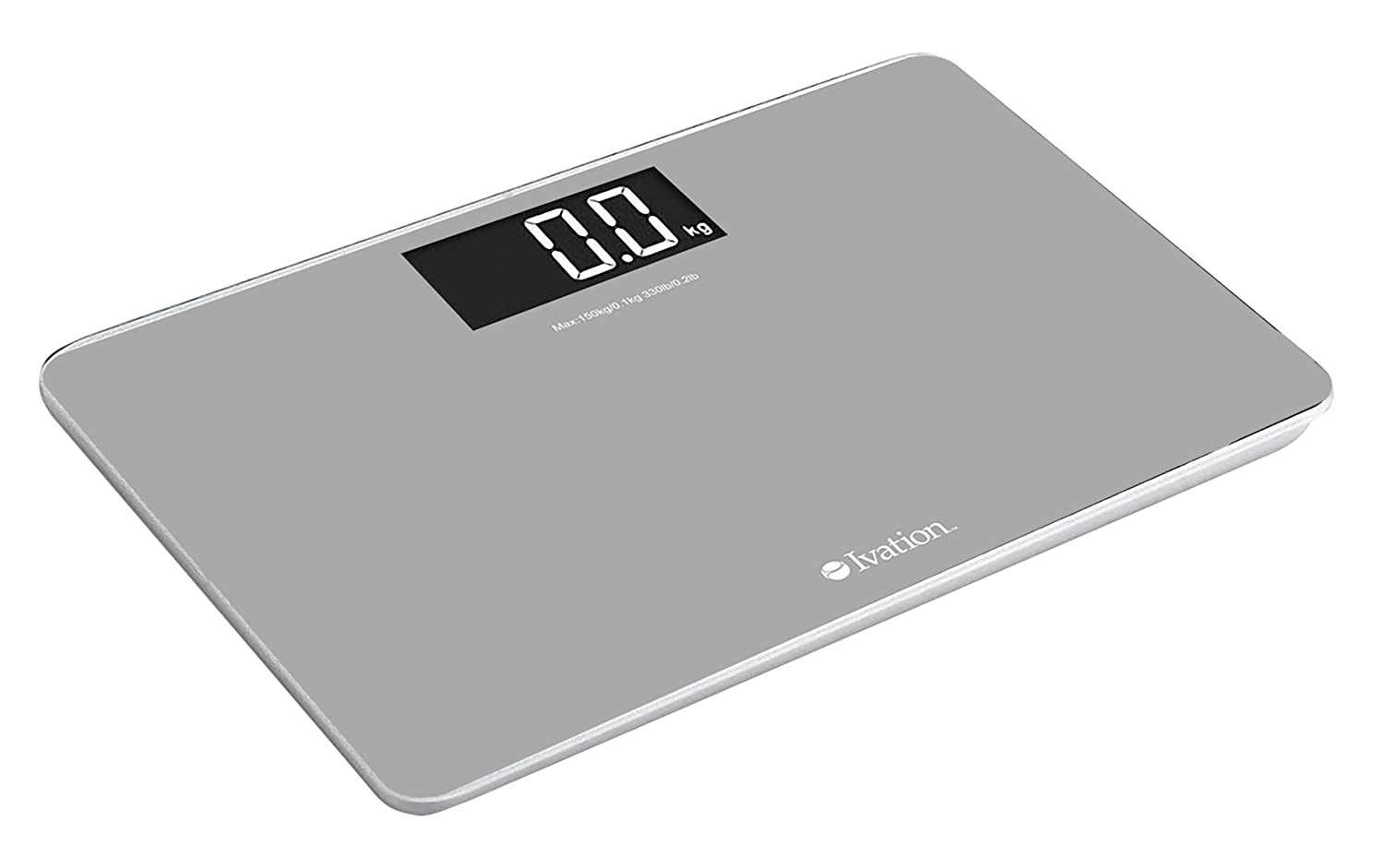 Ivation! Premium Glass Electronic Bathroom Scale