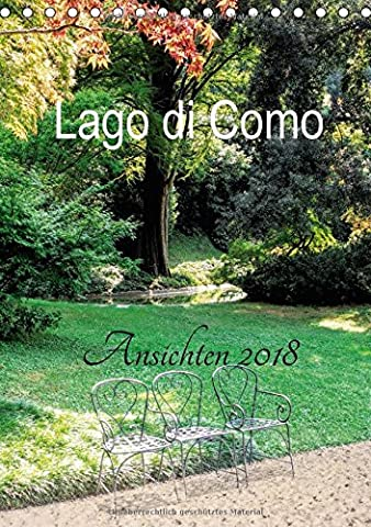 Lago Di Como - Lago di Como Ansichten 2018 (Tischkalender 2018