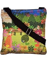 Eco Corner Women's Sling Bag (Multi-Coloured, 3094)