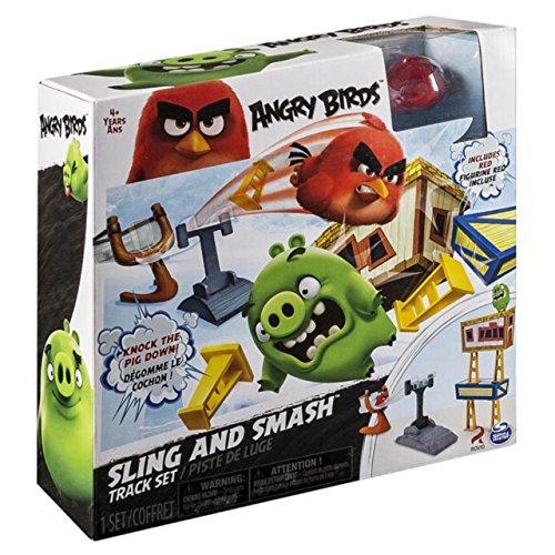 Angry Birds 6027800 - Playset Pista Rollers, Multicolore