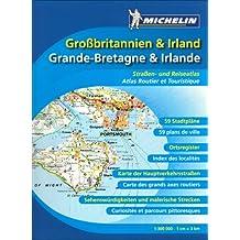 Großbritannien & Irland Straßenatlas (Michelin Nationalkarte)
